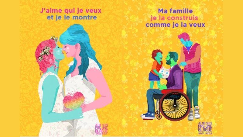 Campagne d'affichage contre les violences LGBTphobes