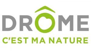 Le logo de Drôme c'est ma nature.