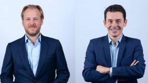 Benoît Terrière et Jean-Michel Mandin, les dirigeants de l'agence Giesbert et Mandin.