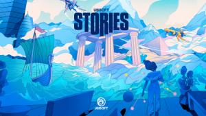 La couverture du deuxième numéro d'Ubisoft Stories