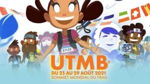 L'affiche 2021 de l'UTMB Mont-Blanc