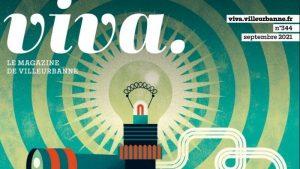 La couverture du dernier numéro du magazine municipal de Villeurbanne.